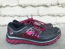 EUC Womens Brooks Glycerin 14 Pink Gray Running Shoes Size US 11 EUR 43