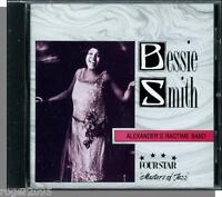 Bessie Smith - Alexander's Ragtime Band (1994)- New 18 Song, Four Star Blues CD!