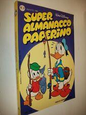 SUPER ALMANACCO PAPERINO:N.2 SECONDA SERIE WALT DISNEY AGOSTO 1980 OTTIMALE!!