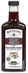 Watkins All Natural Original Gourmet Baking Vanilla, with Pure Vanilla Extract