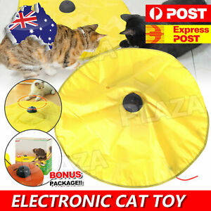 Electronic Interactive Cat Toys Cat's Undercover Fabric Moving Mouse Fun