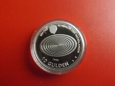 * Niederlande 10 Gulden 1999-2000 Silber PP *Millennium  (Schub58)