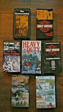 7 Harley Davidson History VHS Tapes