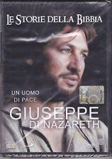 Dvd «GIUSEPPE DI NAZARETH ~ UN UOMO DI PACE» Le Storie della Bibbia nuovo