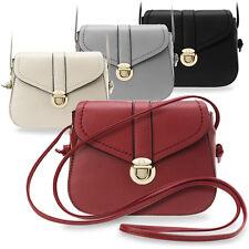 kleine klassische Umhängetasche Damentasche City - Tasche Retro - Style