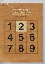 RIVISTA DI RAGIONERIA E TECNICA COMMERCIALE, DIRITTO ED ECONOMIA - N.2 - 11 1980