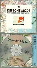 RARE / CD MAXI SINGLE - DEPECHE MODE : NEVER LET ME DOWN AGAIN