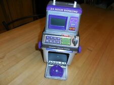 Learning Toy Deposit Bank, Electronic Calculates, Coins + Bills with Display.