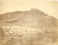 Algérie, Oran, Vue générale  Vintage albumen print.  Tirage albuminé  21x27