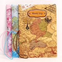 Weltkarte Reisepasshülle Pass Hülle Reisepass Etui Passport Holr Case Cover G8V7