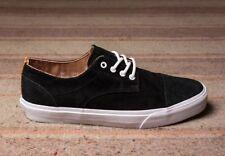 Vans Dillon CA (Pig Suede) Black/White Men's Casual Skate Shoes SIZE 7.5