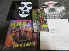 MISFITS / famous monsters /JAPAN LTD CD OBI black case