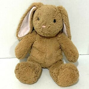 """Build a Bear Bunny Rabbit Plush 14"""" Brown Easter Spring Super Soft Kids Toy BABW"""