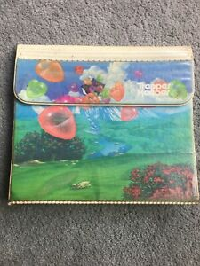 VTG 80's Mead Trapper Keeper Notebook Heart Balloons Rare Used