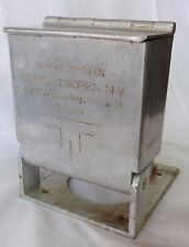 Vintage Scheepswerven GEBR V. DIEPEN N.V metal box shipyard ship builder tool