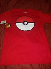 Pokemon POKEBALL T SHIRT UNISEX SIZE Medium ! NEW WITH TAGS OFFICIALLY LICENSED
