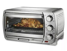 Oster Extra Large Convection Toaster Oven, Brushed Chrome (O4)