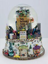 Bloomingdales Big Brown Bag Nyc Central Park Twin Towers Musical Snow Globe