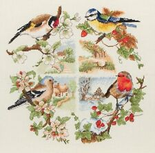 Anchor-counted cross stitch kit-oiseaux & seasons-PCE880