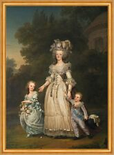 Queen Marie Antoinette of France Regina Francia bambini valore Müller B a2 00214