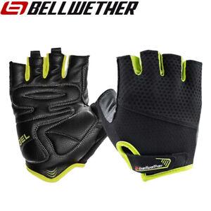 Bellwether Gel Supreme Mens Cycling Gloves - Hi-Vis Black Yellow