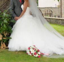 alfred angelo sleeping beauty Disney wedding dress n matching flower girl dress