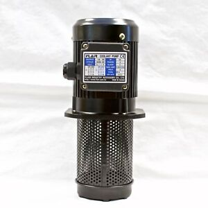 "1/8 HP Filtered Coolant Pump, 220V/440V, 3PH, 130mm (5""), FLAIR SP-8130-220V"