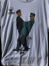 Stussy Yo! MTV Raps Gang Starr T Shirt Mens Large 2013