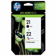 Combo HP 21 & 22 Officejet J3650 J3680 4315 Deskjet F2280 F4140 Genuine New