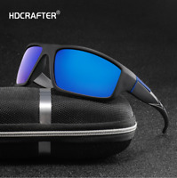 Men Polarized Sunglasses Outdoor Driving Fishing Riding Sport Fashion Glasses