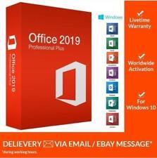 Microsoft Office 2019 Pro Plus 🔥 Lifetime ⚡ License Key 🔑 For Windows 🏆 Fast⌛