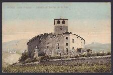 VALLE D'AOSTA INTROD 10 CASTELLO SARRIOD DE LA TOUR Cartolina viaggiata (1935 ?)
