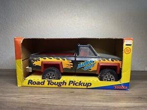 RARE 89' Tonka Pressed Steel Toy Road Tough Pickup Dump Truck Chevrolet 2200 NOS