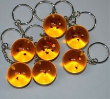 1PCS Random Stars Ball Cosplay Dragon Ball Z DBZ Pendant Keychain Keyring Gifts
