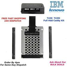 Hard Drive.HDD.Cover.Caddy.T430.T430i.Lenovo.IBM.Thinkpad.BRAND NEW.(FULL KIT).