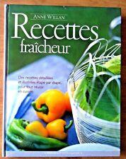 Anne Willan  Recettes fraicheur Illustrative Hardcover 2001