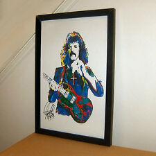 Tony Iommi Black Sabbath Guitar Player Heavy Metal Print Poster Wall Art 11x17