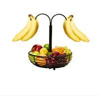 Fruit basket, banana hook, gourmet basics, wrought iron rope style, New with tag