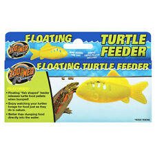 Zoo Med Floating Turtle Feeder Terrapin Natural Feeding Food Enrichment