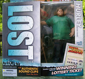 "ABC LOST SERIES 1 2006 McFARLANE ACTION FIGURE HUGO ""HURLEY ""REYES JORGE GARCIA"