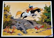 YAKARI au galop avec petit tonnerre poney AFFICHE chambre poster indien enfant