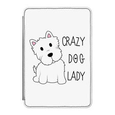 Crazy Dog Lady Case Cover for Kindle Paperwhite - Funny Dog Puppy