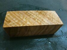 SPALTED TIGER OAK DELUXE KNIFE BLOCK/SCALES/ CALLS/ PEN BLANKS--O--A--1