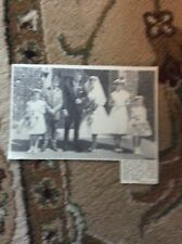 B1-6 ephemera 1961 picture wedding peter donnelly margate linda ansell