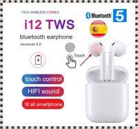 Auriculares Auricular inalámbrico Bluetooth 5.0 Caja de Carga Micrófono BT