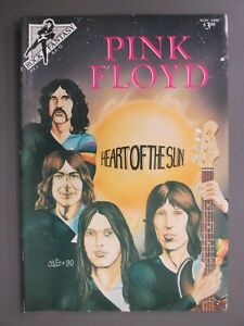 Pink Floyd Rock Fantasy Comic First Printing 1990 Heart Of The Sun MINT!