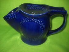 RARE  P&K POTTERY  VINTAGE SHAVING CUP BLUE