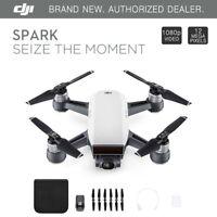 DJI Spark Alpine White Quadcopter Drone - 12MP 1080p Video