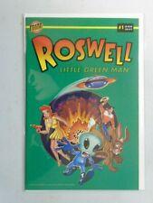 Roswell Little Green Man #1 8.0 VF (1996 Bongo)