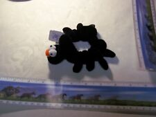 Black Spider Hair Scrunchie Scrunchies  Ponytail Holder